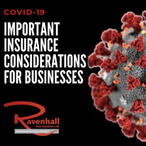 Covid 19 - Insurance considerations
